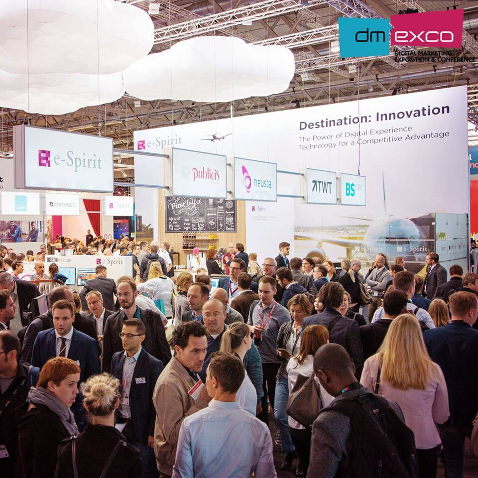 Network as much and often as you can at DMEXCO and other content marketing events
